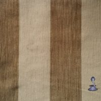 In house fabric: BISCUIT Two Tone