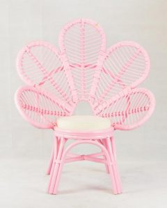 Peacock Pink Chair