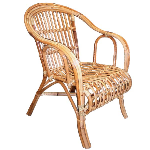 Merveilleux OZ Split Rattan Chair