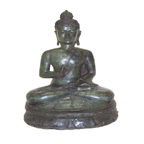 **Large** Sitting Buddha, Bronze