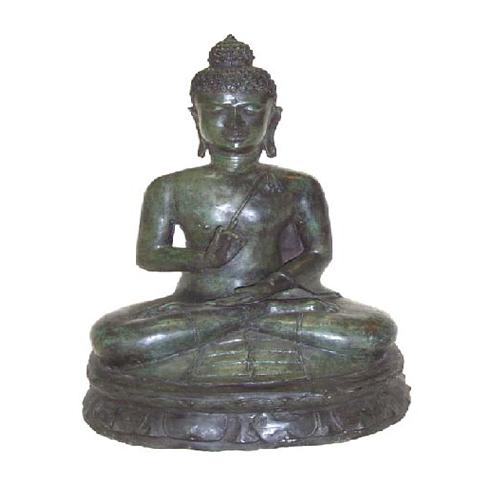 **Large** Sitting Buddha, Bronze