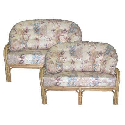 2 x Empress 2 Seat Settee's