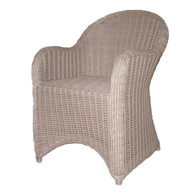 Arthur Outdoor Chair, Grey Resin