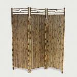 3 Panel Bamboo Screen