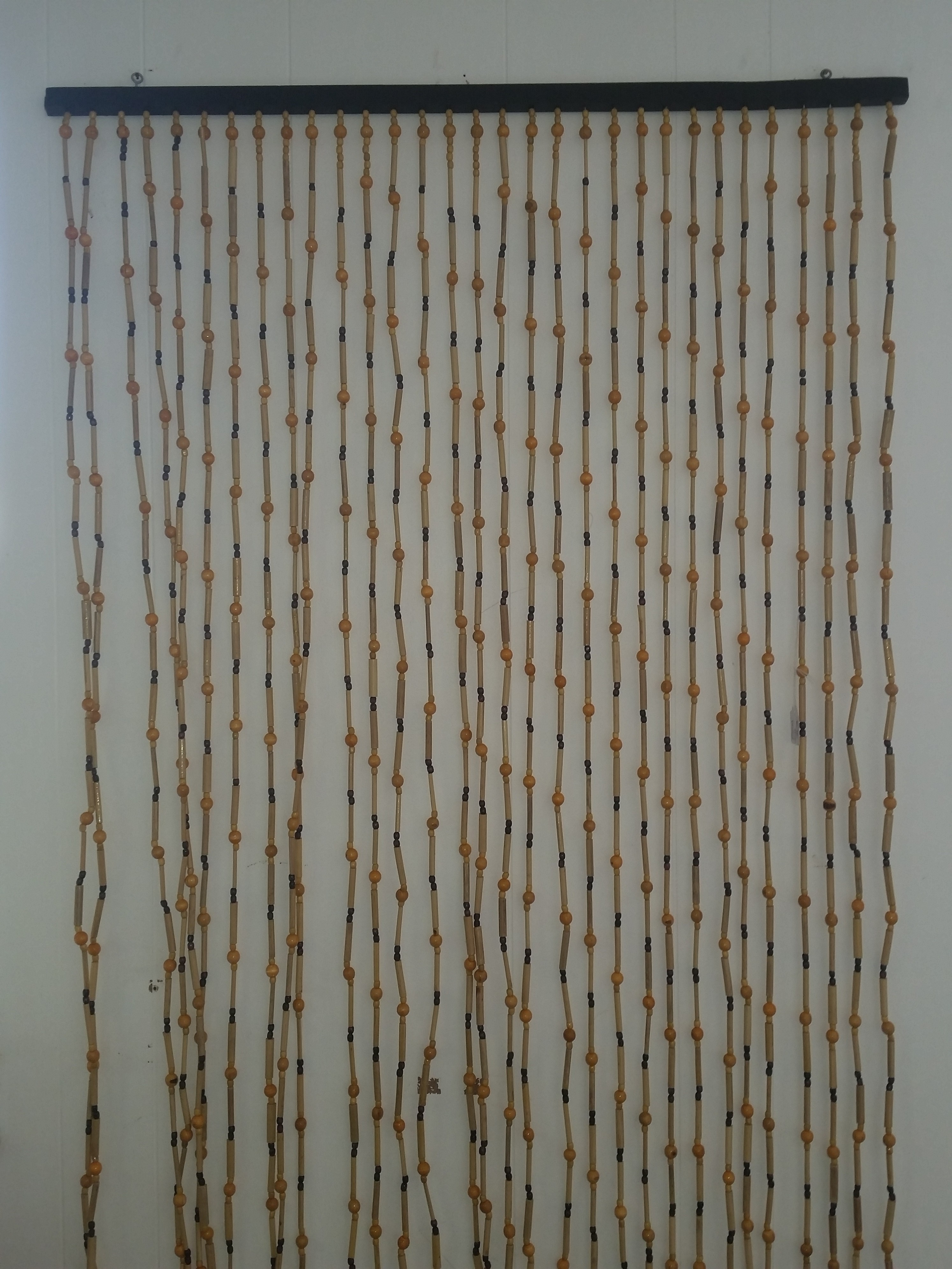 Bamboo and Bead Door Screen