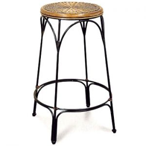 Wrought Iron Bar Stool
