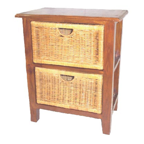 Raffles 2 Drawer Chest, BALTIC