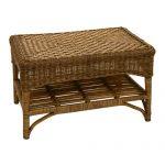 Windsor Wicker Rectangular Coffee Table