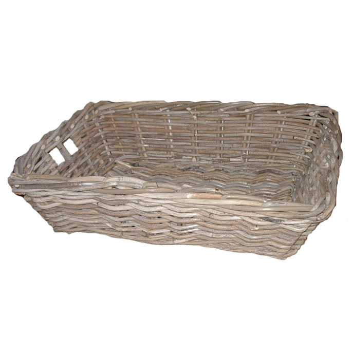 Tapered Rattan Tray, Small