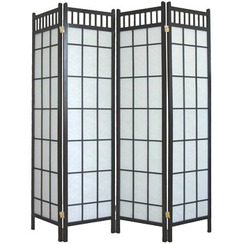 4 Panel Shoji Screen - Traditional