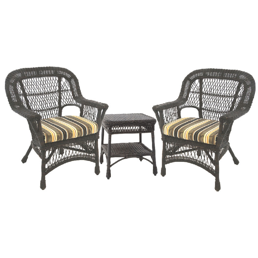 Paradiso All Weather Armchairs, Set of 3