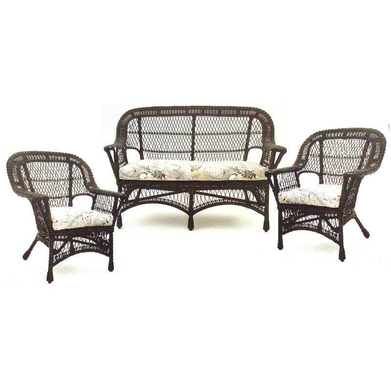 Paradiso 3pce Resin Outdoor Lounge Suite