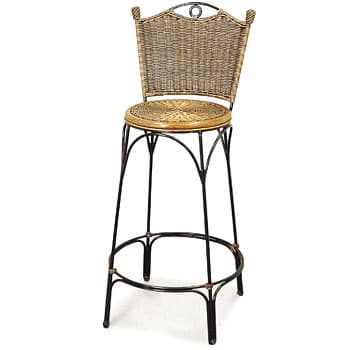 Wrought Iron Bar Chair
