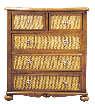 Dynasty 5 Drawer Dresser