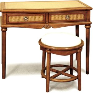 Dynasty Vanity Table & Stool