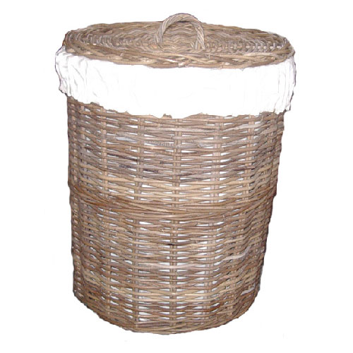 Linen Basket, Lined, EXTRA TALL