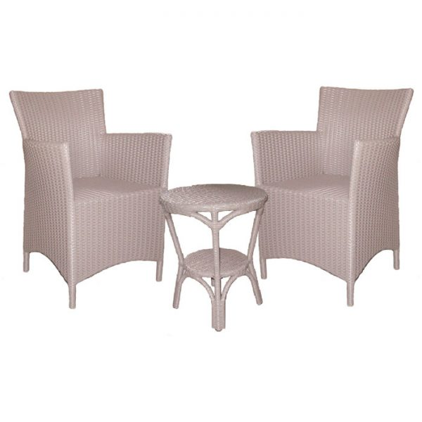 Milano Outdoor Furniture 3pce Set, Resin