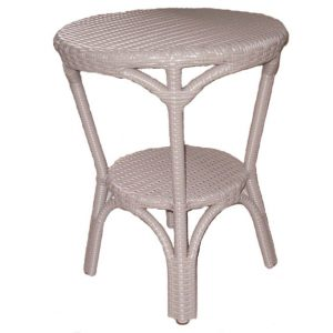 Milano Outdoor Table, Grey Resin