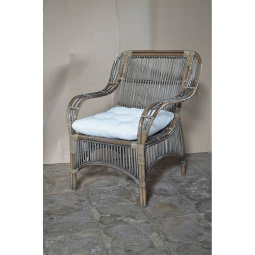 Atrium Armchair - Available in White and French Grey