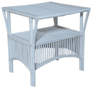 Atrium table - available in White and French Grey