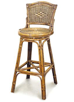 Grand Bermuda Swivel Bar Chair