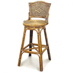 Grand Bermuda Swivel Bar Chair