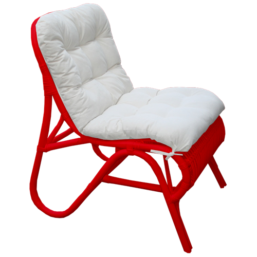 Zelda Chair - Available in White and Red