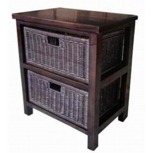 Annalise Two Drawer Cabinets Rattan Drawers Cobra Cane