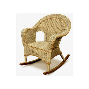 Kensington Seagrass Rocking Chair