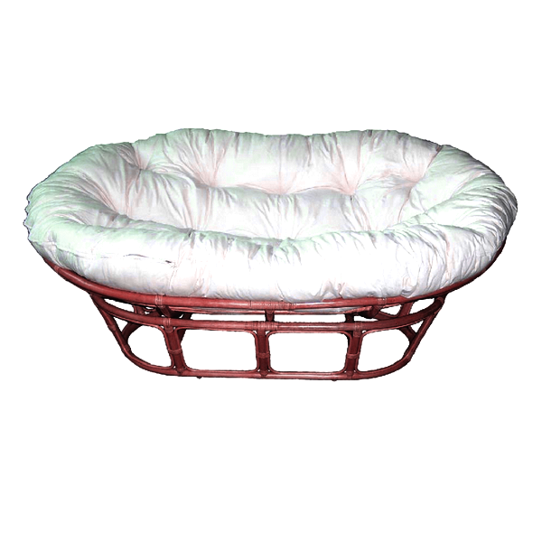 Papasan SETTEE & Dacron Cushion