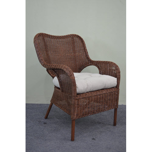 Elvissa Rattan Chair - available White, Honey and French Grey