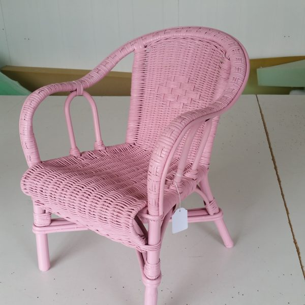Childs Chair Emily Pink