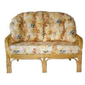 Empress High Back Settee, 2 Seat
