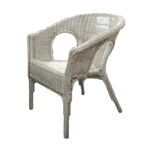 Fabian Wicker Chair - available in White, Natural, Teak and Honey(NEW)