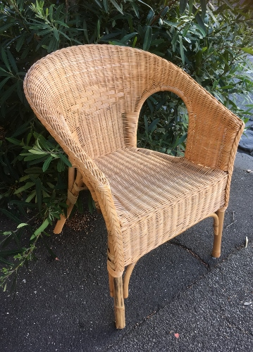 Fabian Honey Cane Chair