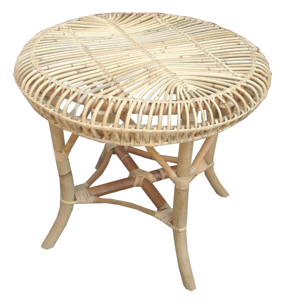 Fantail table