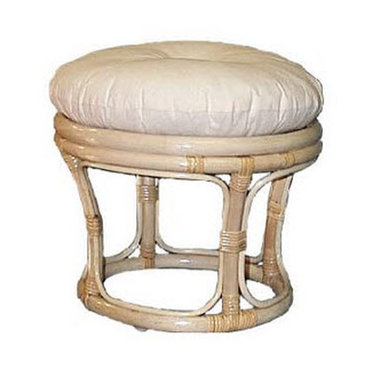 Footstool, Natural