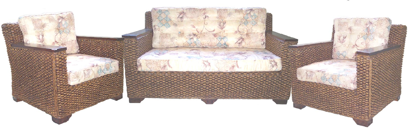 Holman 3pce Lounge Suite, Water Hyacinth