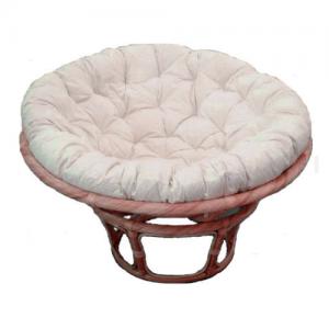 Papasan Chair Honey Frame, Kapok Cushion