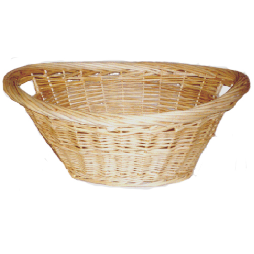 Oval Willow Washing Basket