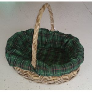 Oval Shopper Basket, Lined