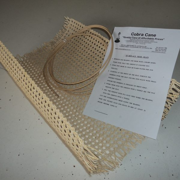 Cane Seat Repair Kit - CHINESE Mesh