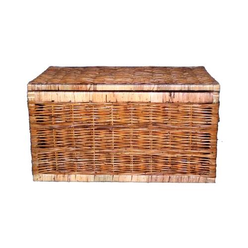 Flat Top Rattan Chest Small  sc 1 st  Cobra Cane & Cane u0026 Rattan Storage Baskets | Trunks | Toy Boxes | Blanket Box