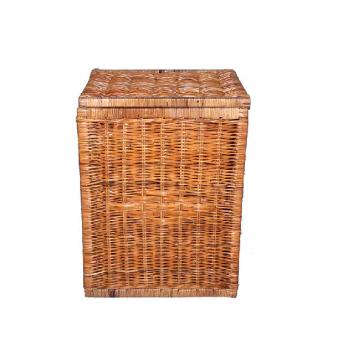 Rectangular Laundry Hamper with Lid
