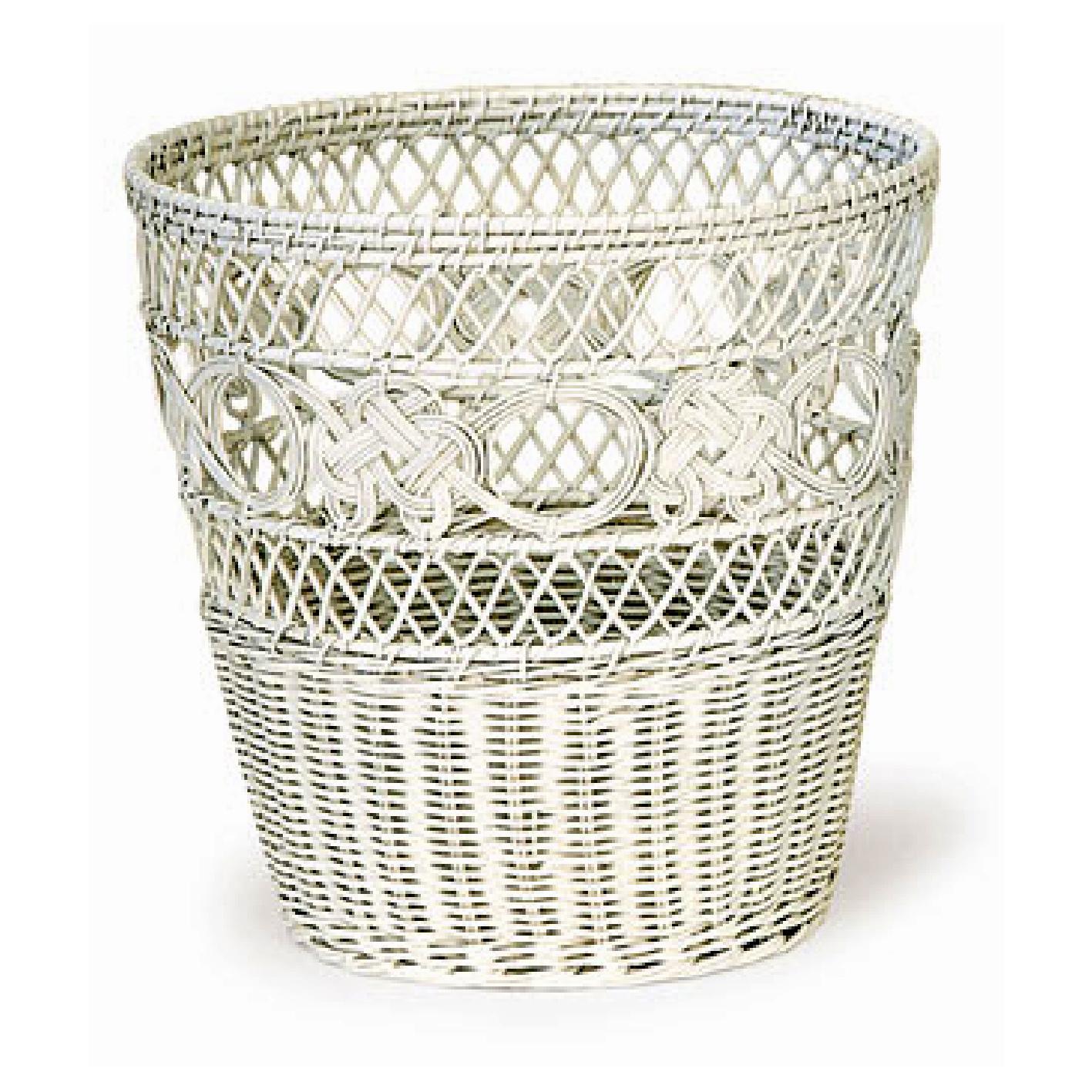 Rattan Round Waste Basket