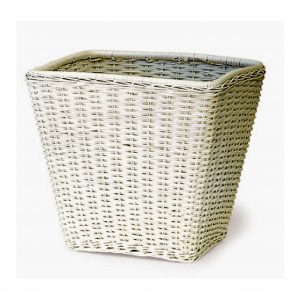 Rattan Square Waste Basket