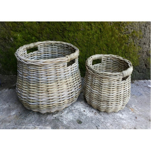 Round Belly Utility Baskets