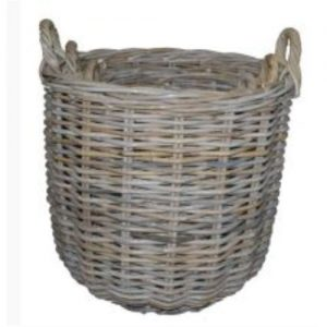 Rattan Log Baskets