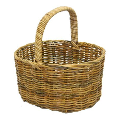 Straight Side Oval Basket