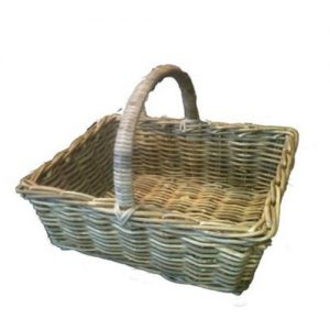 Double Weave Baker Basket - available in natural and kubu grey